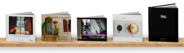 Blurb Sample Books