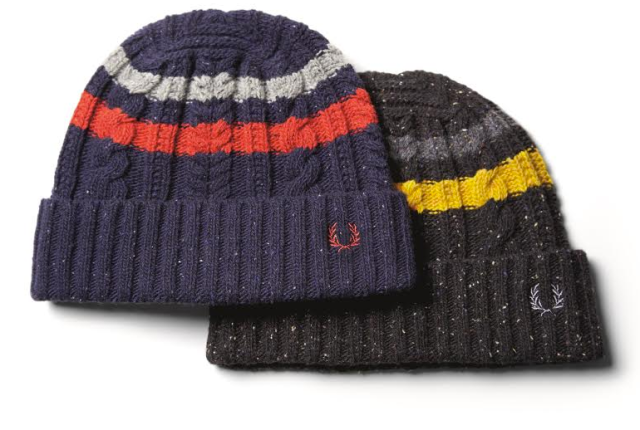 Fred Perry Cable Tipped Beanie