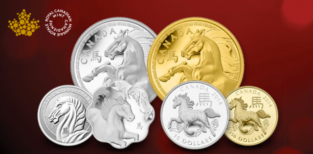 Royal Canadian Mint Year of the Horse Collection