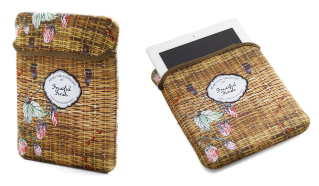 Strawberry Picking Tablet Case