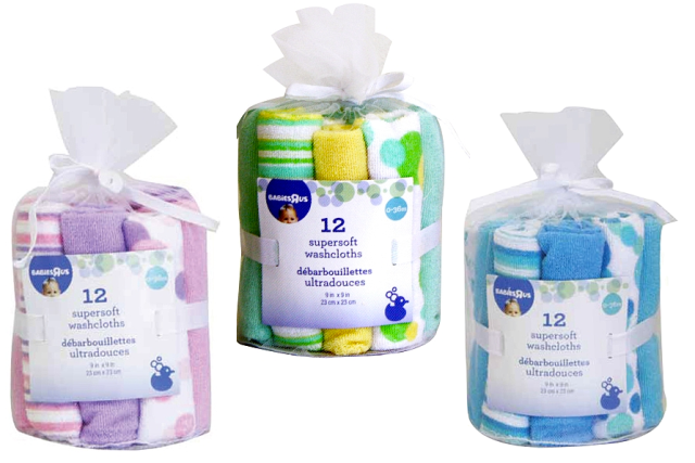 Babies R Us Super Soft Washcloth Sets