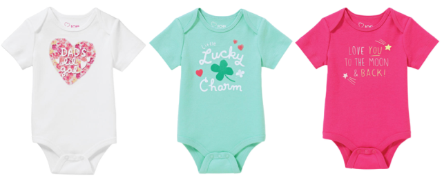 Baby Girls Text Bodysuit