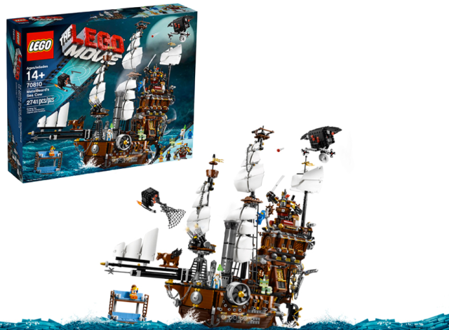 Lego Movie Pirate Ship