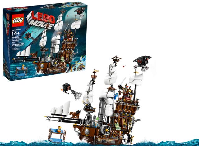 Lego Movie Pirate Ship