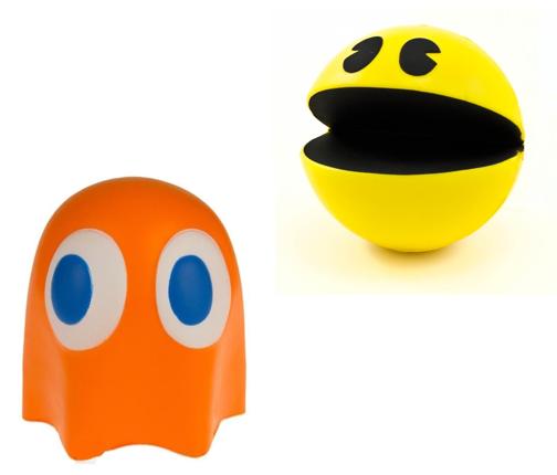 Pac-Man Stress Balls