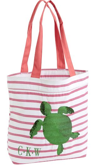 Sea Breeze Tote - Pink STripe