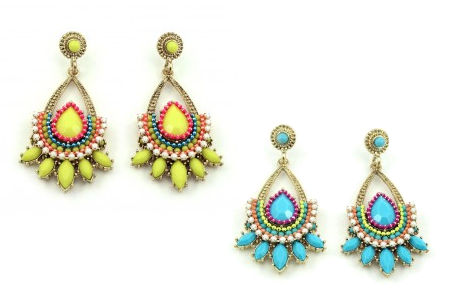 Celestine Earrings - $68