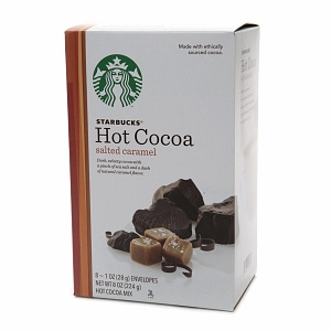 Starbucks Hot Cocoa Salted Caramel