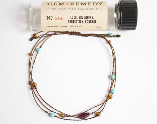 GEM+REMEDY Luck Grounding Bracelet