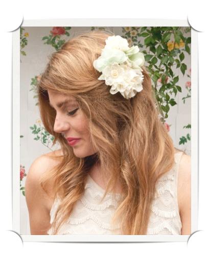Headmistress Midsummer Garden Bouquet Clip