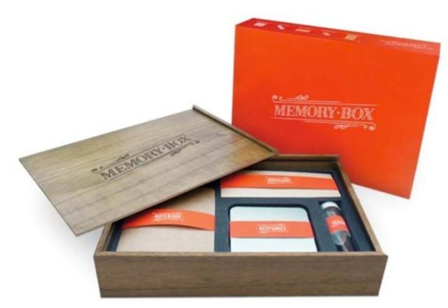 Luckies of London Memory Box
