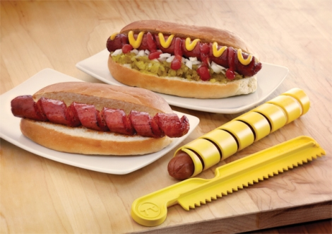 Spiral Hot Dog Cutter