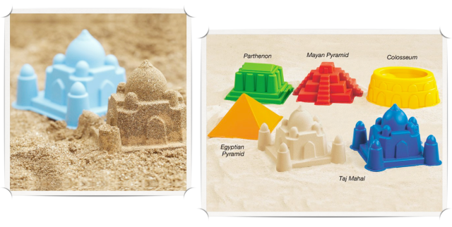 Architectural Sand Mold Set