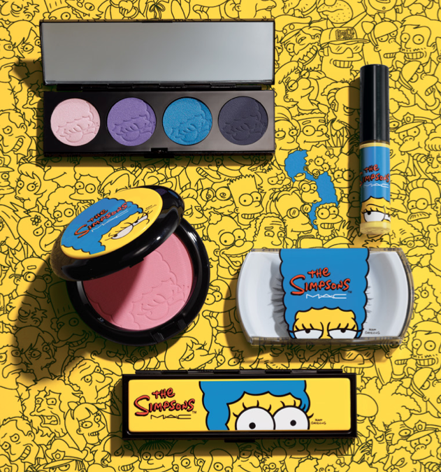 Marge MAC Cosmetics Simpsons