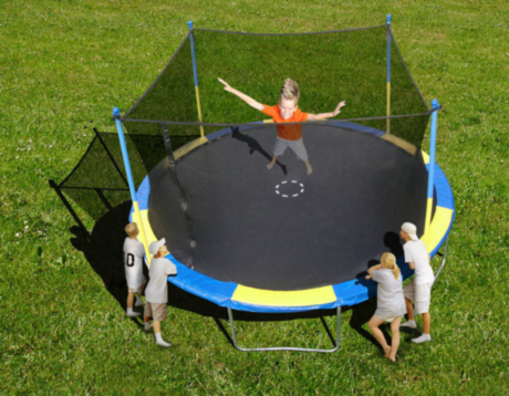 Trainor Sports 14 trampoline
