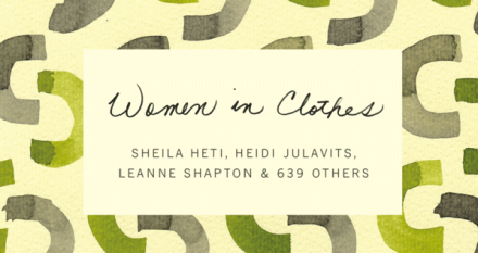 Book Report Women In Clothes