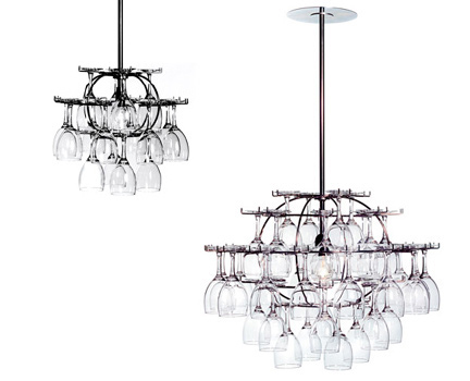 Glass Cluster Chandelier