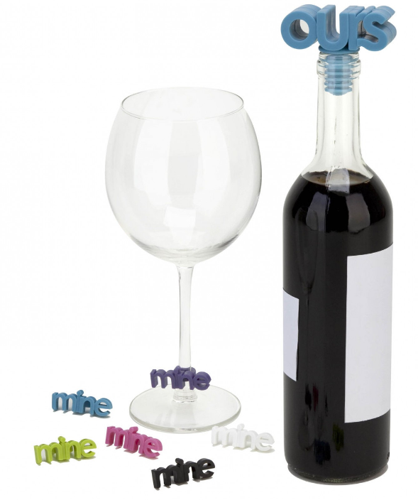 Umbra Mine and Ours Wine Charms