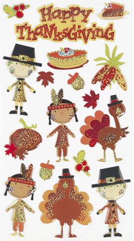 Herrschners Thanksgiving Stickers