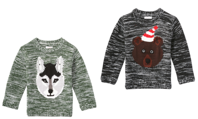 Joe Fresh Boys Animal Sweaters