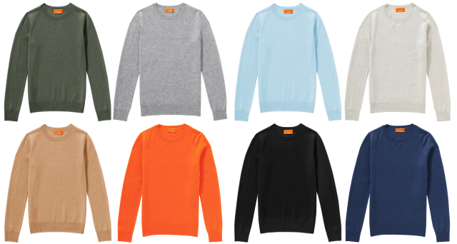 Joe Fresh Cashmere Sweaters