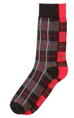Joe Fresh Men's Two-Pack Plaid Socks