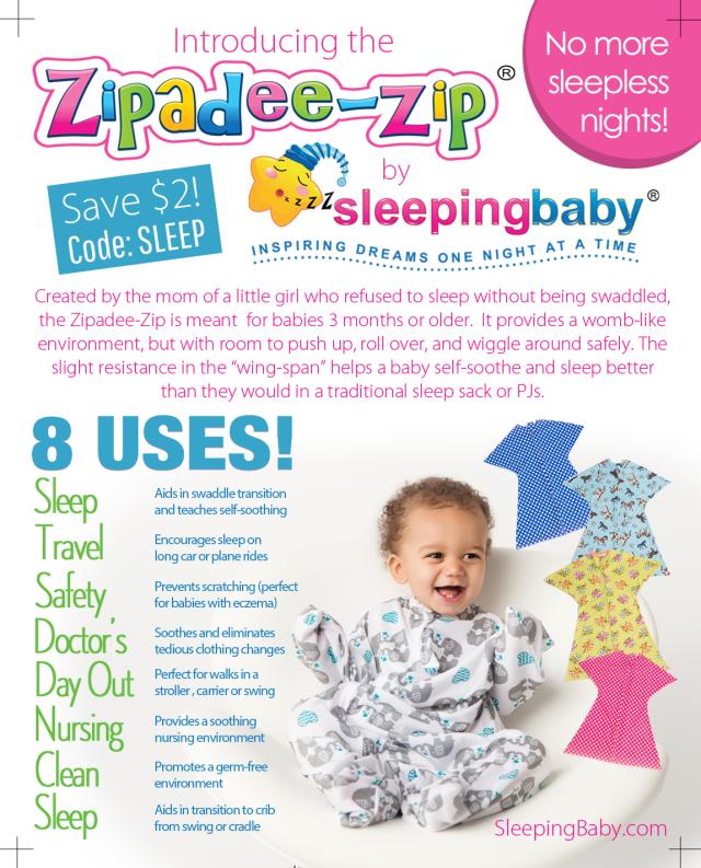 Sleeping Baby Fact Sheet and Coupon Code