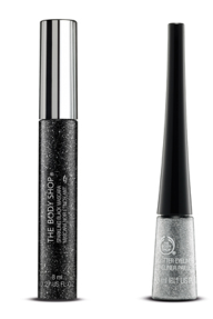 Glitter Eyeliner and Mascara The Body Shop