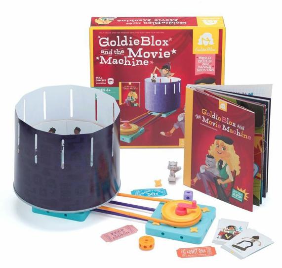 Goldieblox Movie Machine Kit