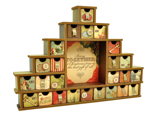 Kaisercraft Shadowbox Advent Calendar