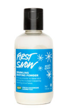 Lush First Snow Dusting Powder