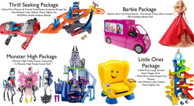 Mattel Prizes