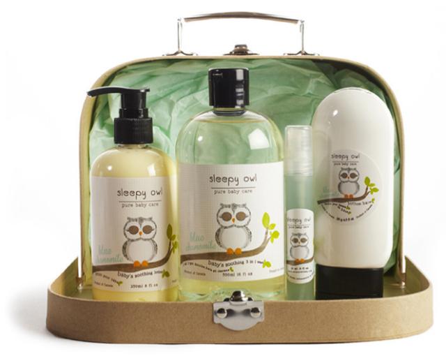 Sleepy Owl Gift Box