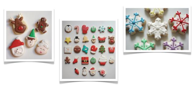 Teeny Tiny Bakery Holiday Cookies