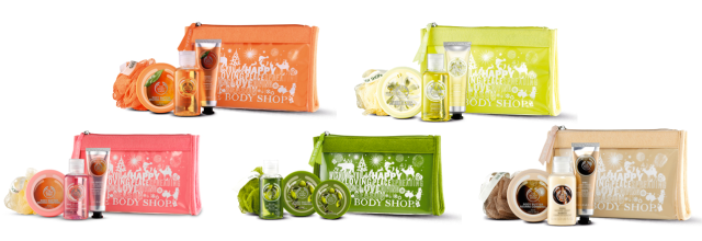 The Body Shop Beauty Bags
