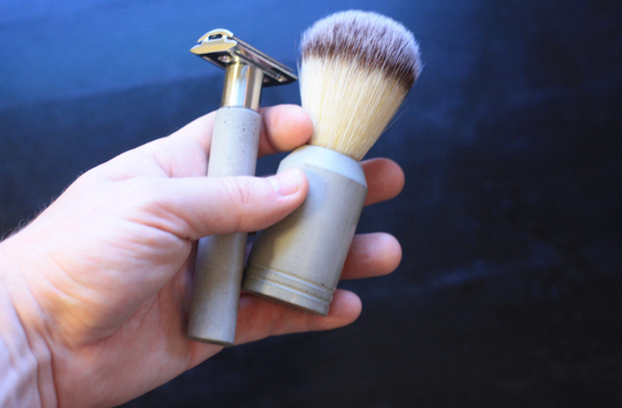 theUncommonGreen Concrete Shave Set