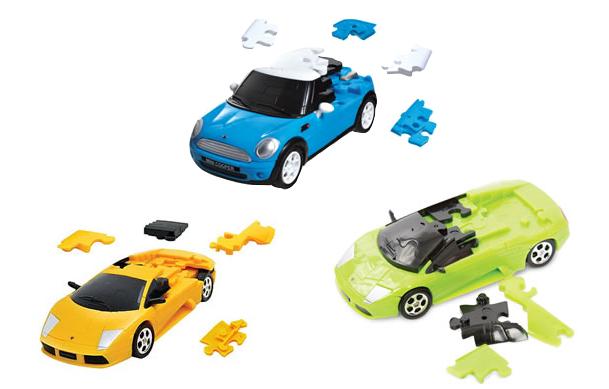 3D Car Puzzles