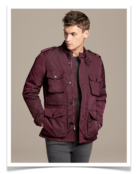 Banana Republic Nylon Jacket