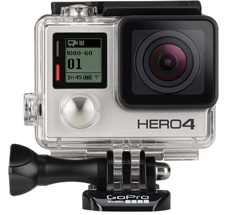GoPro HERO4 Waterproof HD Sports and Helmet Camera