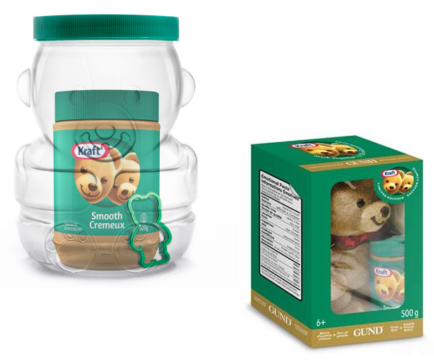Kraft Peanut Butter Bear Gifts