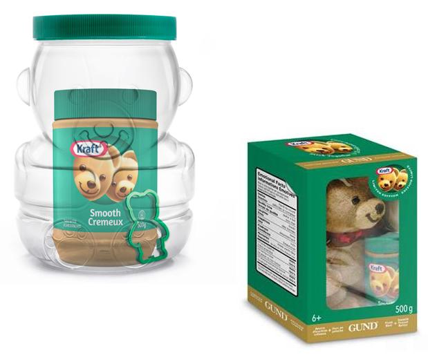 Kraft Peanut Butter Bear Gifts