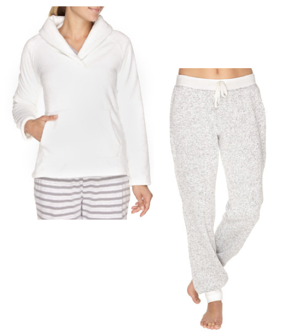 La Vie En Rose Dreamy Sweater and Fleece Pants