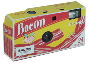 License to Play Bacon Camera