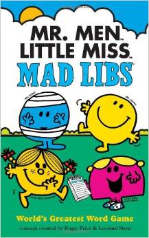 Mr. Men Mad Libs