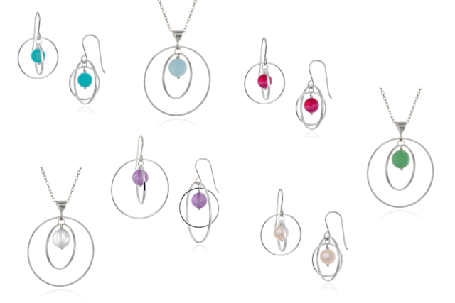 Pamela Lauz Jewellery Orbit Collection