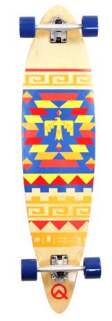 Quest 41-inch Tribes Longboard Skateboard