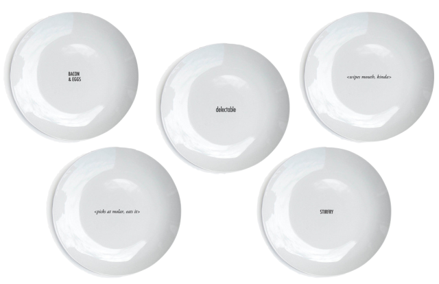 Said The King Plates
