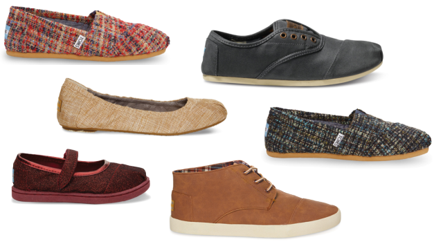 TOMS Holiday Line