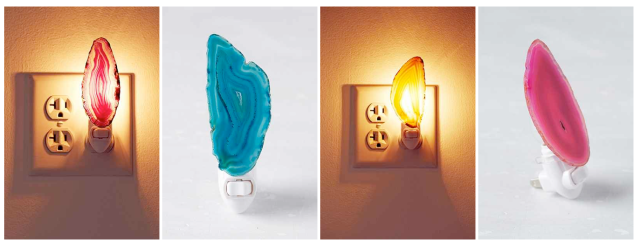 Urban Outfitters Agate Nightlights