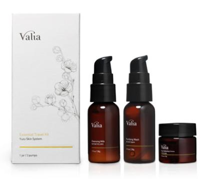 Valia Essential Travel Kit